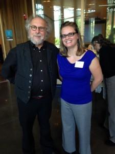 Anne and Chef David George Gordan