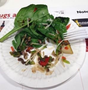 weaver ant salad